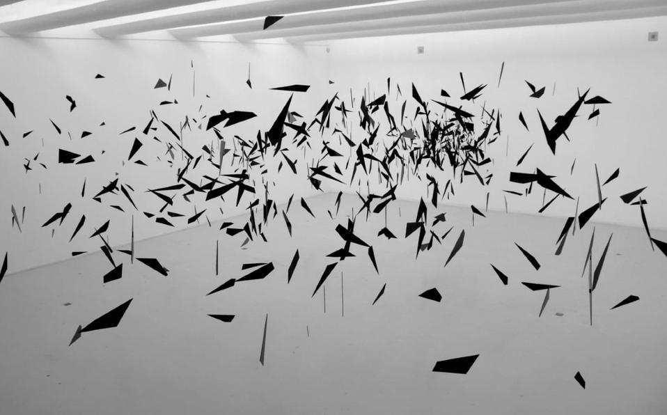 Carlos Amorales, Drifting Star (2010). Tomada del sitio web del artista