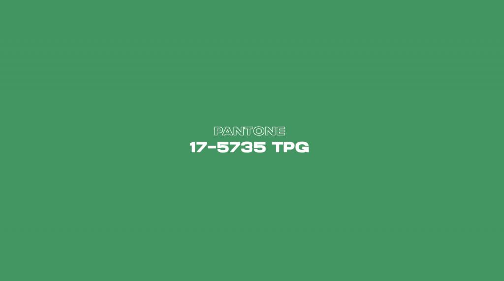 El verde será el color del 2022